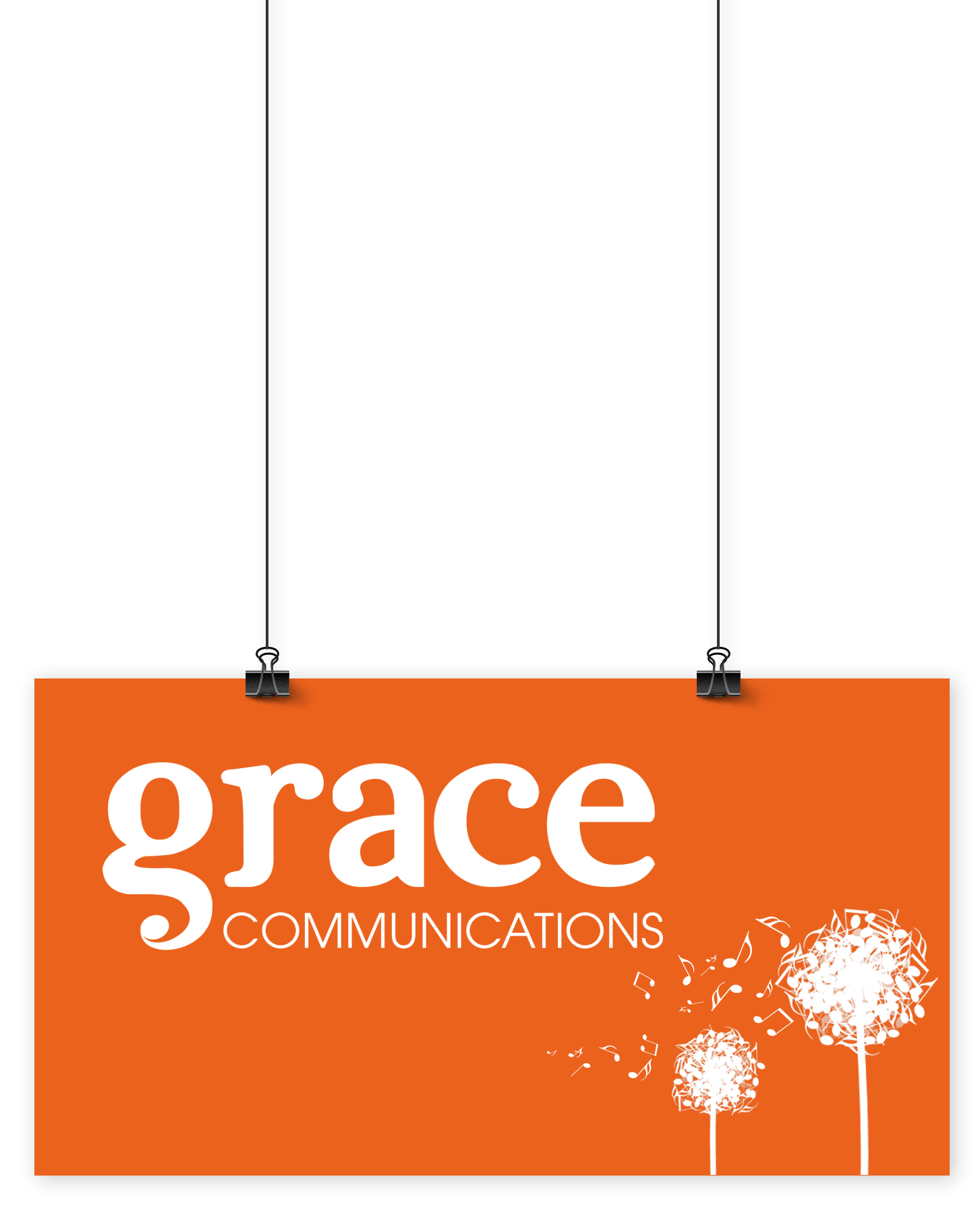 Hanging Grace Communications Logo